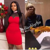 Reactions as Chioma was spotted on a date with Davido's cousin