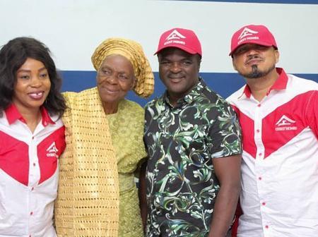 Reactions As Popular Fuji Musician, Obesere, Celebrates Veteran Actress, Iya Osogbo, On Her Birthday