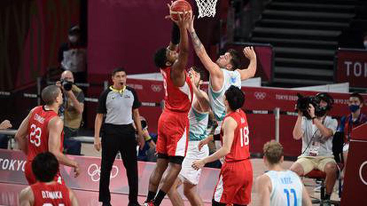 JO, Basket (H): la Slovénie de Doncic punit le Japon