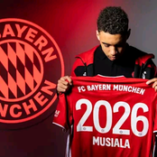 Bayern Munich Youngster Jamal Musiala Signs 5 Year Contract, Commits Future To The Club