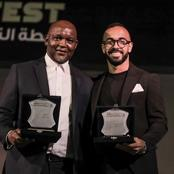 Pitso Mosimane wins prestigious award