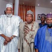 Dangote And BUA: Ganduje Meets The Two Business Tycoons, Set To Reconcile Them