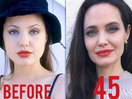 """""""Nothing Last Forever, Even Beauty Fades"""" What Really Happened To Pretty Angelina Jolie(Photos)"""