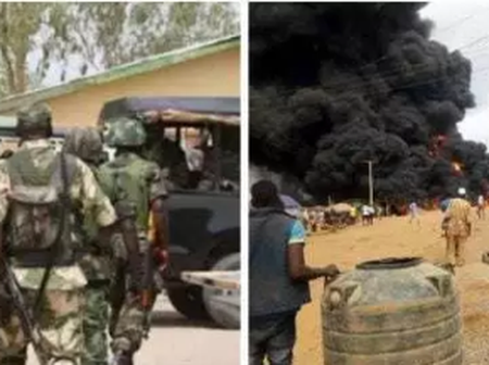 Nigerian Army Mistakenly Burnt Down Church In Kaduna state