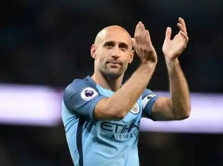 Former Manchester City and West Ham defender Former Manchester City and West Ham defender  Pablo Zabaleta confirms his retirement.