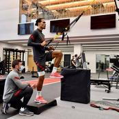 He Is Like The Terminator, Fans React To Photos Of £76M Defender  Training In The Gym