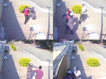 Watch : Pakistan National Get Robbed In Broad Daylight By VW Drivers Who Came With A Knife.