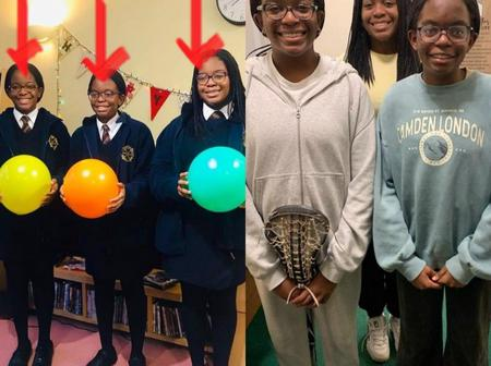 Tony Elumelu shows off his 3 beautiful daughters, as they turn 14 years today [photos]