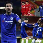 Fabregas reacts to Chelsea victory over Liverpool, name 29 years old midfielder as man of the match