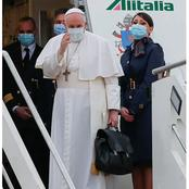 Historical first ever visit: the Pope departs from Rome to Iraq.