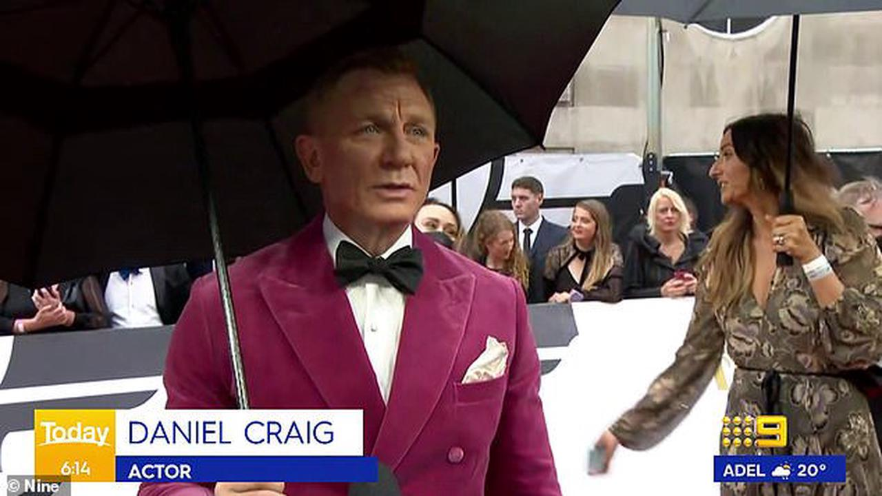 Ally Langdon takes a swipe at Daniel Craig after the James Bond actor's VERY rude red carpet interview with Today show journalist at his latest film premiere