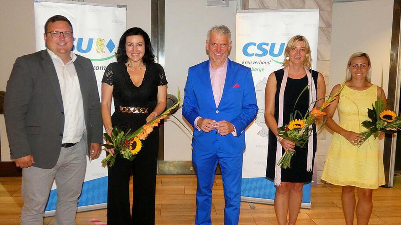 Steffen Vogel mit 99,1 Prozent als CSU-Kreisvorsitzender bestätigt