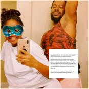 See the heart felt message Simi wrote on her hubby, Adekunle Gold's 34th birthday