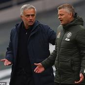Why Jose Mourihnos reactions towards Ole Gunner criticised by Tottenham fans