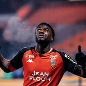 Lorient Nigerian Striker Terem Moffi Calls His Goal Against PSG Best In His Career