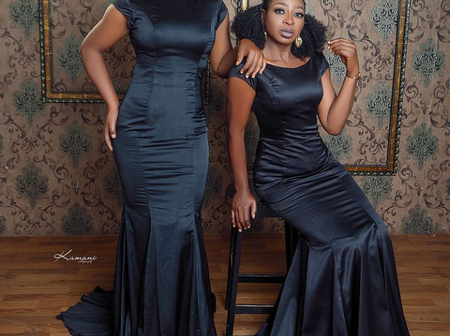 See Lovely Pictures Of Nollywood Twin Sisters Wearing The Same Clothes