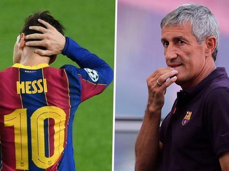 Read what Ex-Barcelona Coach, Quique Setien who spent six months at Camp Nou said about Lionel Messi