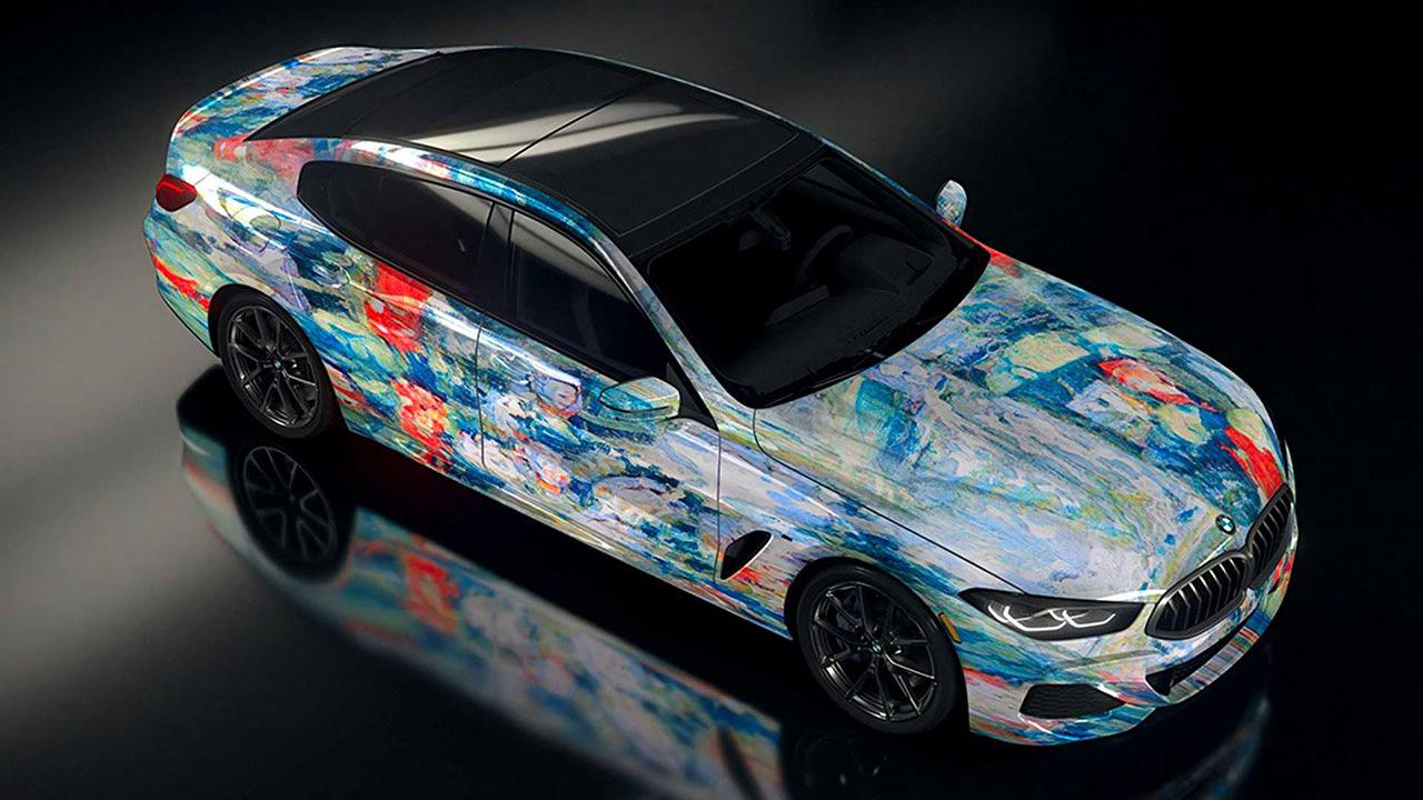 BMW Combines Art and Artificial Intelligence to Create the Ultimate AI Masterpiece