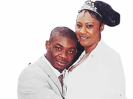 Does Don Jazzy's marriage pictures raise questions about his real age?