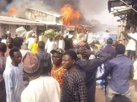 Today's Headlines: Hoodlums Loot Goods As Fire Guts Katsina Central Market, Service Chiefs Shun Reps