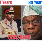Former President Obasanjo Is 84 Years Today, Check Photos of Him In The Army