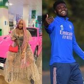 Minutes After Popular Arsenal Star Posted DJ Cuppy's Song, See What She Said On Twitter