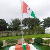 Guiglo/ Drapeau estampillé d'une image d'Alassane Ouattara : voici la vérité
