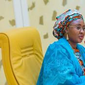 Aisha Buhari Breaks Silence On Abductions Of School Girls