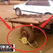 Kenyans Left Talking After 'Kanjo' Did This To A 'Mkokoteni'