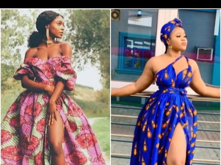 Ladies, Check Out These Fabulous Ankara Maxi Gown Styles To Rock This Month