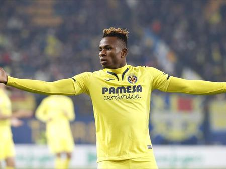 Samuel Chukwueze guides Villarreal to the top of Spanish Laliga table after defeating Valencia