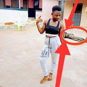 She Posted Her Photo Online, See What People Saw In The Background That Got Reactions