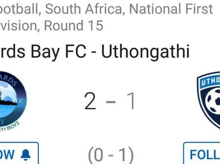 Khanyiso Erick Mayo scored a double as Richards Bay FC won 2-1 against Uthongathi FC