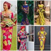 Fabulous Ankara Skirt And Blouse Styles For Mothering Sunday (Photos)