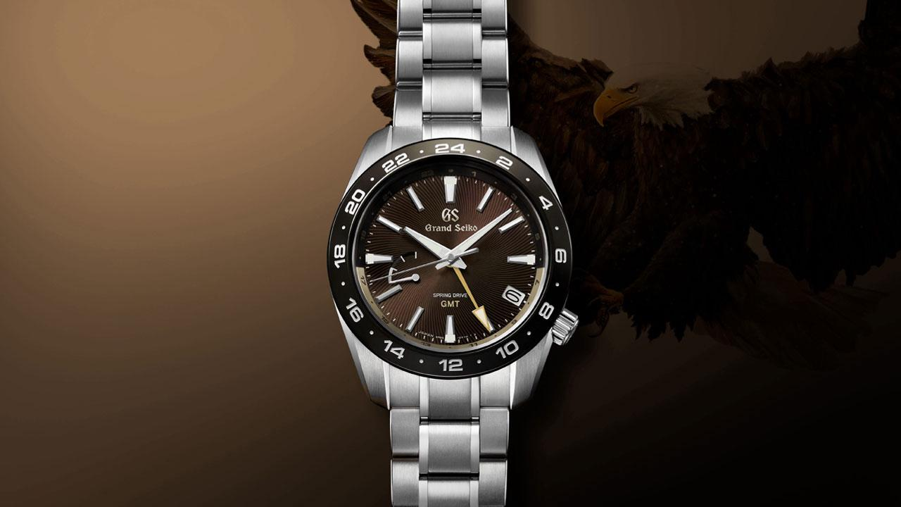 Grand Seiko's eagle-inspired Spring Drive GMT for 60th anniversary