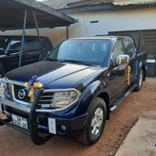 The Church Of Pentecost donated a pick-up car to the Upper West Regional Police station.