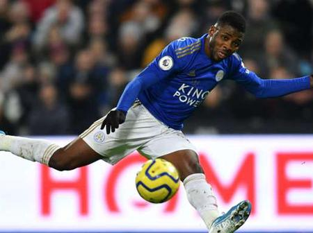 African star Iheanacho secured his first premier league goal. Today's football fixtures.