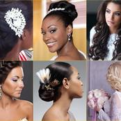 Ladies, check out these gorgeous bridal hairstyles this 2021.