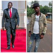 Dp Ruto Joins Meru Residents In Mourning This Young Man Who Was a Promising Leader