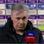 Match Post View: Everton Manager Carlo Ancelotti Has Hope To Finish Top 4 And Play Uefa Next Season