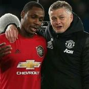 Ighalo Reveals the Kind of Man Ighalo Reveals the Kind of Man  Solskjaer is After Mourinho Claimed Son's Dad is a Better Father
