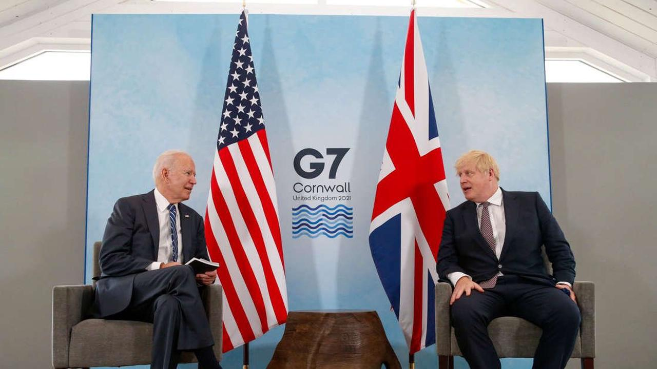 Biden, Johnson Put Brexit Tensions on Hold in First Meeting