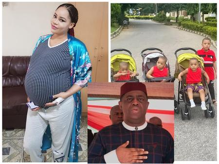 Check Out Photos Of Anambra State Model Who Gave Birth To Four Sons For Femi Fani-Kayode