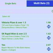 Today's Must Win GG, Over 2.5 Goals Multibets To Stake On And Earn Huge Returns