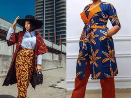 Thank God It's Friday; See 10 Ankara Kimono Jackets You Could Rock To The Office This Morning