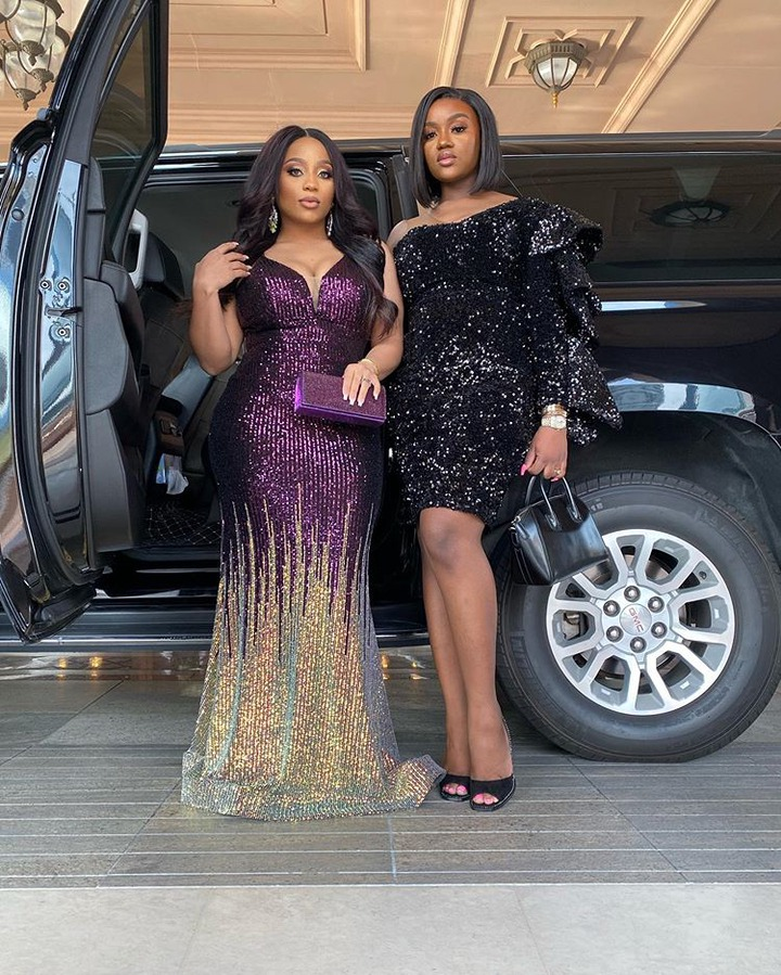 """Your outfit is terrible"" Fans blast Chioma's Outfit worn to Davido's Brother's wedding at Dubai."