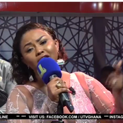 Massive reaction after Nana Ama McBrown sang King Promise love song Bra to her husband