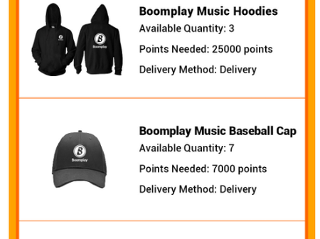 Being rewarded for just playing music! See how Boom play has made it possible