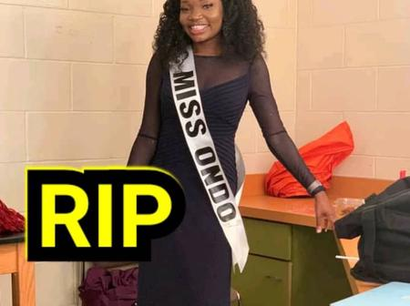 The 24years Old Lady Who Was Killed In USA, See Her Photos Enjoying Herself Before Her Death