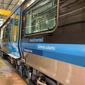 The new Metro rail train that's got people talking.